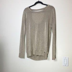 Michael Kors Gold Glitter Sweater